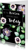 Woonkaart: Be the reason someone smiles today