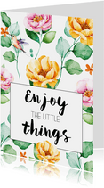 Woonkaart: Enjoy the little things