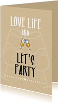 Woonkaart  Love life and let's party