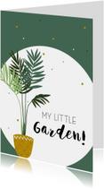 Woonkaart: My little garden
