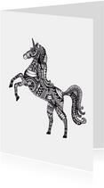 Woonkaart Unicorn Eenhoorn