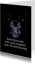 Woonkaarten Franse Buldog