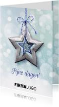 YVON ster blauw bling