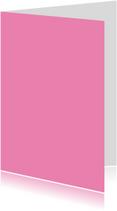 Zacht roze staand dubbel
