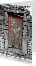Zomaar houten deur