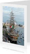 Zomaar kaart Sail Amerigo Vespucci