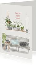 Zomaar kaartje Planten