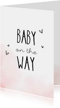 Felicitatiekaarten - Zwanger, Baby on the way