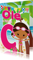 Zwemdiploma Ole C Shante