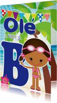 Zwemdiploma Ole je B Shante