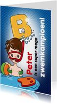 zwemkampioen B jongen