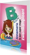 Zwemkampioen B meisje