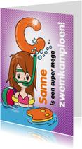 Zwemkampioen C meisje