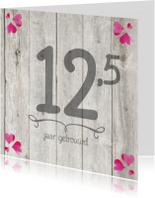12,5-jaar-huwelijk-getal-hout