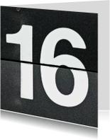 16 van omklapcijfers