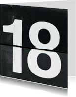 18 van omklapcijfers