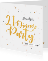 21 Diner party