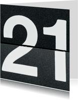 21 van omklapcijfers