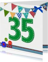35  jaar verjaardag -BF