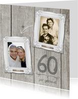 60 JAAR jubileumkaart