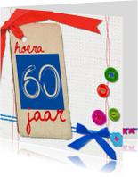 60 zestig jaar verjaardag -BF
