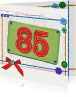 85 jaar verjaardag -BF