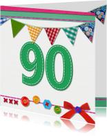 90 jaar verjaardag -BF