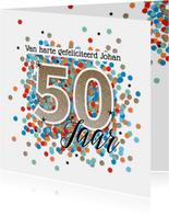 Abraham 50 jaar felicitatie kaart verjaardag