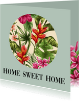 Aloha wenskaart - Home sweet home
