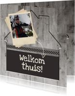 Antraciet Welkom thuis - BK