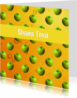 Appels met honing -  joods Shana Tova