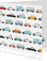 Auto kaart Anet Illustraties
