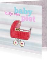 Baby piet in kinderwagen II