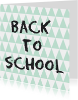 Back to school Kaart - WW