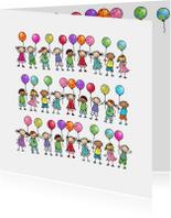 Ballonnenkaart Anet illustraties