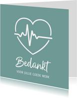 Bedankkaart hulpverleners hart met hartfilmpje