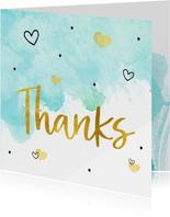 Bedankt - bedankkaart hulpverleners thanks