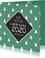 Best wishes groene kerstbomen 2020