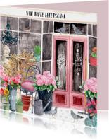 Beterschap bloemenwinkel