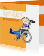 Beterschap rolstoel Robbie