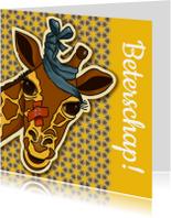 Beterschap - zieke giraf