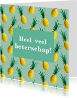 Beterschapskaart ananas