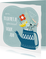 Beterschapskaart - Een bloemetje speciaal voor jou