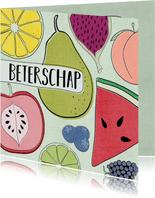 Beterschapskaart - Kleurrijk & Fruitig