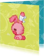 Beterschapskaart konijntje - A