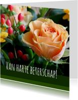 Beterschapskaart - roosje