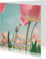 beterschapskaart tulpen - LB