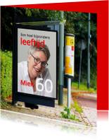 billboard bushokje vierkant