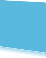 Blauw vierkant dubbel