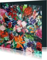 Bloemen bont boeket
